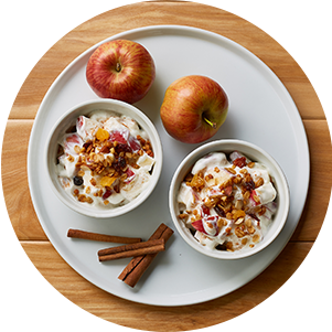 Plated Applecrunchyogurtbowl